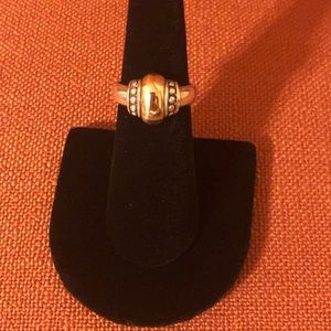 Retired 14k gold &Sterling Silver James Avery Ring